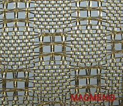 A0019-4 Gold Mono Mesh Industrial Fabric Manufacturer